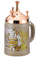 <div>0.5L Kannenbaecker with Copper Plated Lid, CD</div><div><br></div>