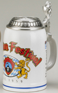 Zugspitz, 0.5l, with Rollen lid