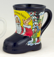 Gluhwein Ceramic Boot w/handle
