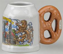 <div>Mini Stein without Lid, Pretzel Handle, CD</div><div><br></div>