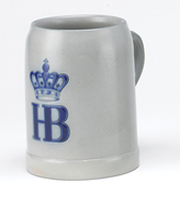 HB Salt Glazed 0.5 Liter Mug