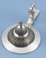 Cast Conical Pewter Lid