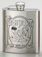 7 oz. Shiny Finished Flask