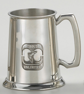 1 Pint Tankard, Shiny, with stamped logo