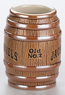 Stoneware Barrel Shot Glass