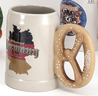 20 oz Pretzel Handle Salt Glaze Kannenbaecker Mug